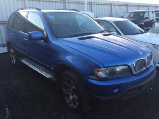 2002 BMW X5 E53 4.4i 5 SP AUTOMATIC STEPTRONIC 4.4L MULTI POINT F/INJ AIR CON COMPRESSOR