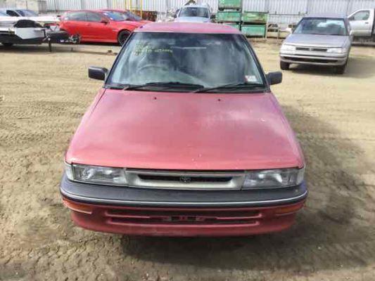 1992 TOYOTA COROLLA AE92 SE 5 SP MANUAL 1.6L CARB BONNET CABLE