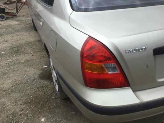 2000 HYUNDAI ELANTRA XD GL 5 SP MANUAL 1.8L MULTI POINT F/INJ TAIL LIGHT LEFT
