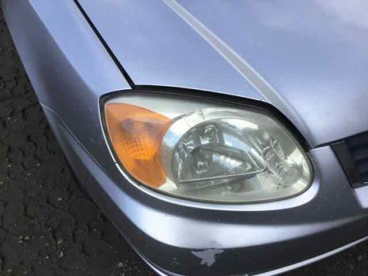 2003 HYUNDAI ACCENT LC GL 4 SP AUTOMATIC 1.5L MULTI POINT F/INJ HEADLIGHT RIGHT