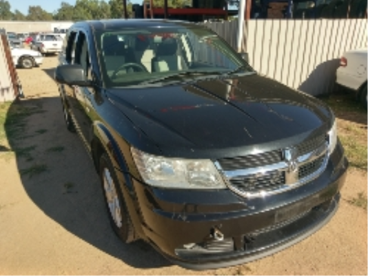 2008 DODGE JOURNEY JC SXT 6 SP AUTOMATIC 2.7L MULTI POINT F/INJ GUARD RF