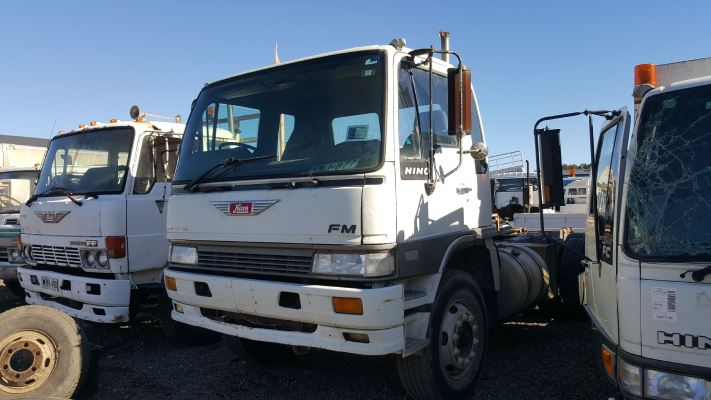 1994 HINO FM SHRIKE 3MLL (Short) 1400 13 SP MANUAL 9.9L DIESEL TOOLBOX