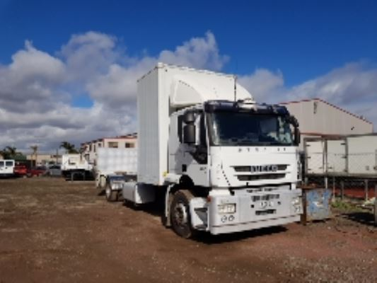 2010 IVECO STRALIS AT13 ACTIVE TIME 16 SP AUTOMATED MANU 12.9 DIESEL TURBO F/INJ TOOLBOX
