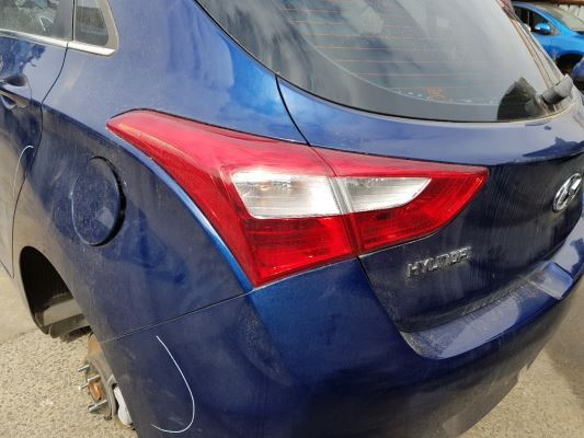 2012 HYUNDAI i30 FD MY12 TAIL LIGHT LEFT