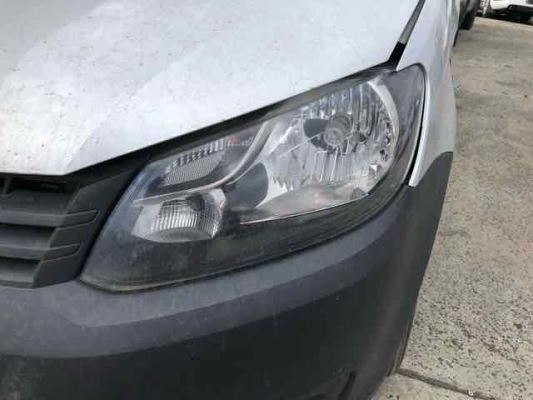 2012 VOLKSWAGEN CADDY HEADLIGHT LEFT