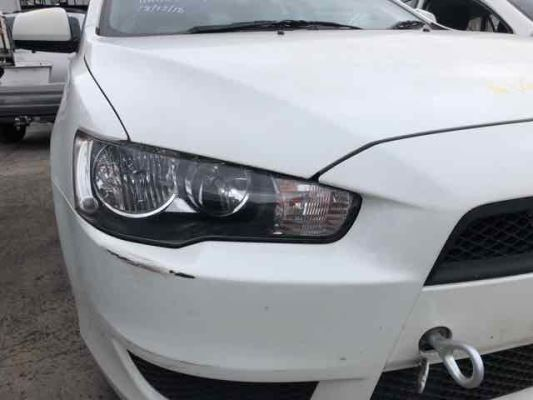 2011 MITSUBISHI LANCER CJ MY11 HEADLIGHT RIGHT
