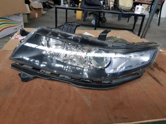 2007 HONDA ACCORD HEADLIGHT LEFT