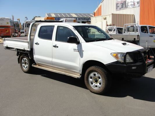 2011 TOYOTA HILUX KUN26R MY11 UPGRADE SR (4x4) 5 SP MANUAL 3.0L DIESEL TURBO F/INJ
