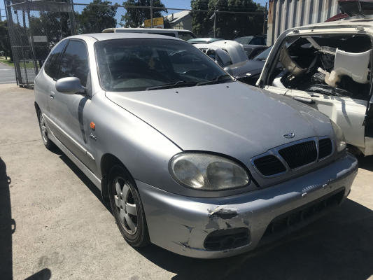 2001 DAEWOO LANOS SPORT 5 SP MANUAL 1.6L MULTI POINT F/INJ BAR REAR COMPLETE