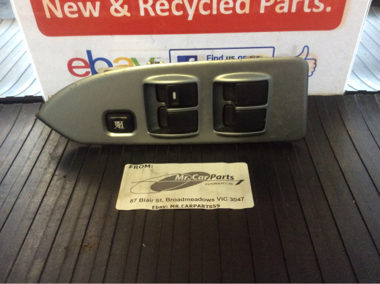 2005 MITSUBISHI COLT RG LS CONTINUOUS VARIABLE 1.5L MULTI POINT F/INJ ELECTRIC WINDOW SWITCH MASTER UNIT