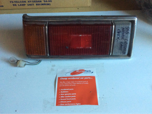 1978 HONDA ACCORD 2 SP AUTOMATIC 1.6L CARB TAIL LIGHT LEFT