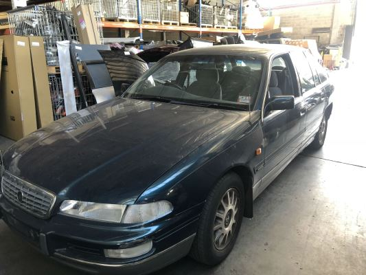 1995 HOLDEN STATESMAN VS V6 4 SP AUTOMATIC 3.8L MULTI POINT F/INJ GUARD LF