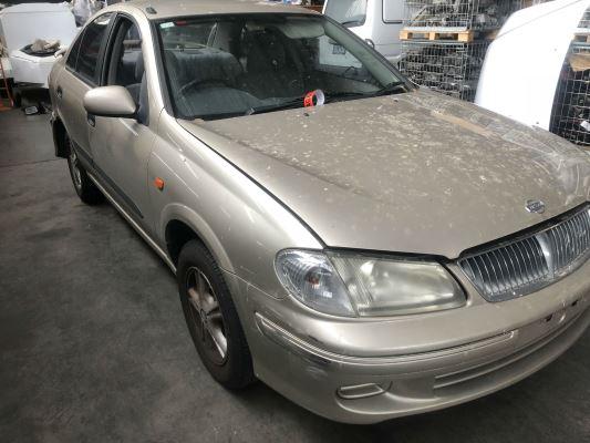 2002 NISSAN PULSAR N16 LX 4 SP AUTOMATIC 1.6L MULTI POINT F/INJ DOOR LF