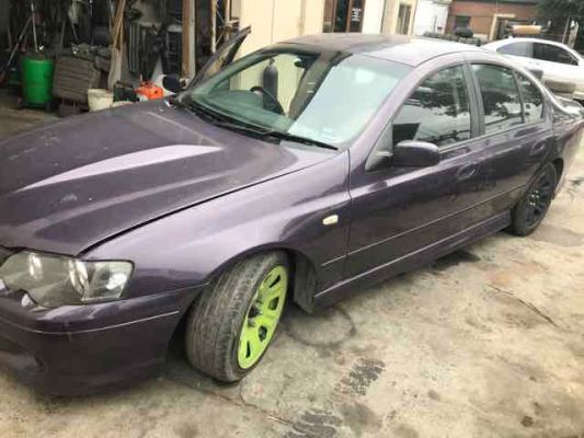 2004 FORD FALCON BA XR6T 4 SP AUTO SEQ SPORTS 4.0L TURBO MPFI DOOR TRIM LR