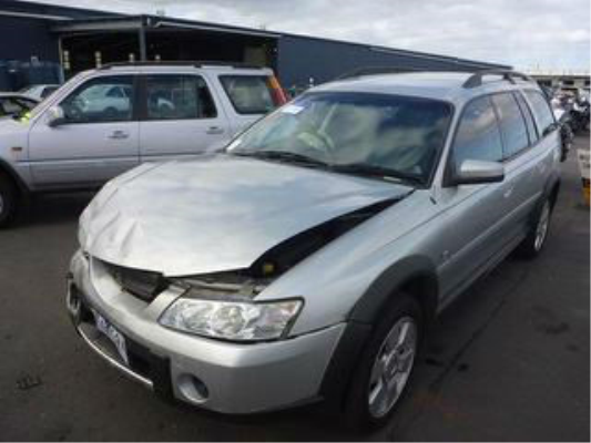 2004 HOLDEN ADVENTRA VZ CX8 4 SP AUTOMATIC 5.7L MULTI POINT F/INJ BAR REAR COMPLETE