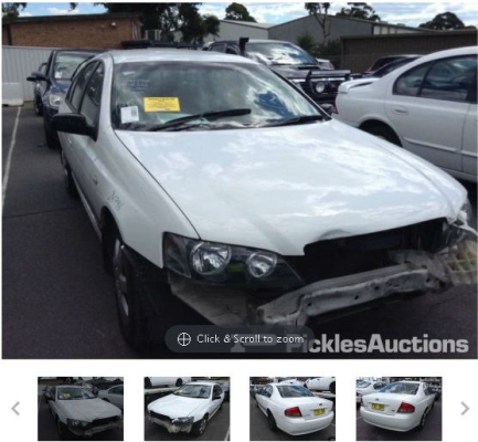 2003 FORD FALCON BA XT 4 SP AUTO SEQ SPORTS 4.0L MULTI POINT F/INJ TRANSMISSION/GEARBOX