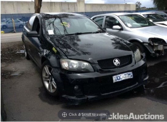 2007 HOLDEN COMMODORE VE SV6 5 SP AUTOMATIC 3.6L MULTI POINT F/INJ BOOT LID