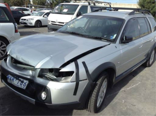 2005 HOLDEN ADVENTRA VZ 5 SP AUTOMATIC 3.6L MULTI POINT F/INJ BAR REAR COMPLETE