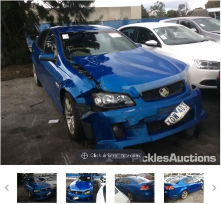2010 HOLDEN COMMODORE VE MY10 SV6 6 SP AUTOMATIC 3.6L MULTI POINT F/INJ BOOT LID