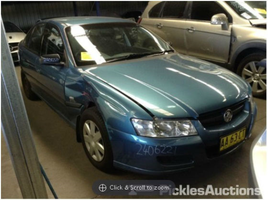 2004 HOLDEN COMMODORE VZ EXECUTIVE 4 SP AUTOMATIC 3.6L MULTI POINT F/INJ ENGINE LONG