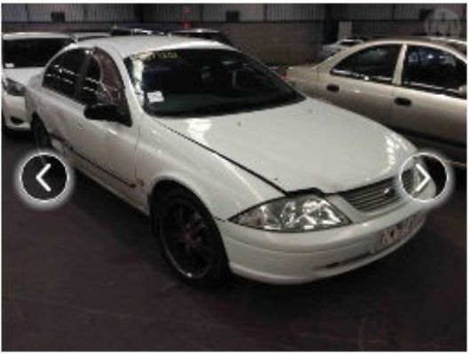 2001 FORD FALCON AUII FORTE 4 SP AUTOMATIC 4.0L MULTI POINT F/INJ ENGINE LONG