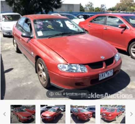 2001 HOLDEN COMMODORE VX EXECUTIVE 4 SP AUTOMATIC 3.8L MULTI POINT F/INJ ENGINE LONG