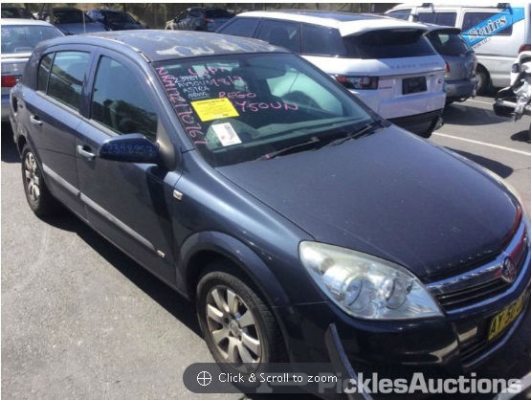 2008 HOLDEN ASTRA AH MY08.5 60TH ANNIVERSARY 4 SP AUTOMATIC 1.8L MULTI POINT F/INJ TRANSMISSION/GEARBOX