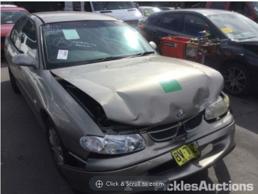 2000 HOLDEN COMMODORE VTII ACCLAIM 4 SP AUTOMATIC 3.8L MULTI POINT F/INJ BOOT LID