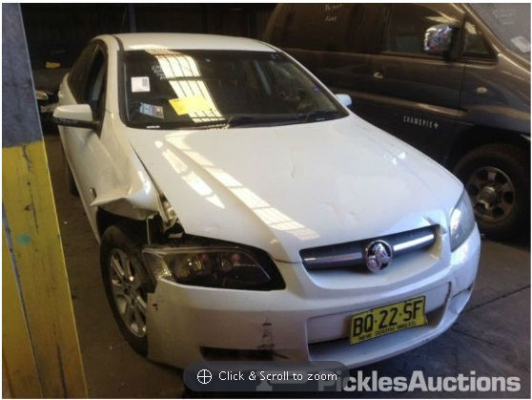 2009 HOLDEN COMMODORE VE MY09.5 4 SP AUTOMATIC 3.6L MULTI POINT F/INJ ENGINE LONG