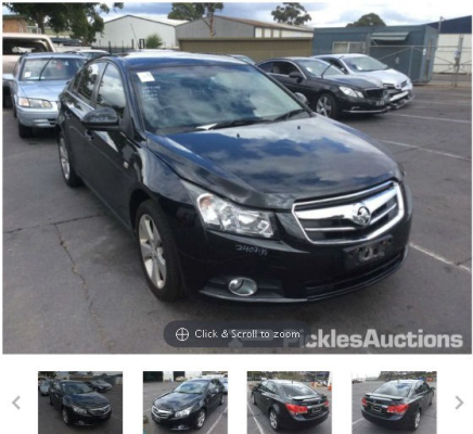 2010 HOLDEN CRUZE JG CDX 6 SP AUTOMATIC 1.8L MULTI POINT F/INJ