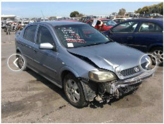 2004 HOLDEN ASTRA TS CD 4 SP AUTOMATIC 1.8L MULTI POINT F/INJ ENGINE LONG