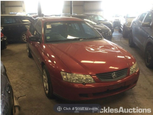 2003 HOLDEN COMMODORE VY EXECUTIVE 4 SP AUTOMATIC 3.8L MULTI POINT F/INJ BAR REINFORCE FRONT