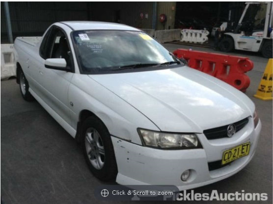 2006 HOLDEN COMMODORE VZ MY06 UPGRADE SV6 5 SP AUTOMATIC 3.6L MULTI POINT F/INJ DOOR LF