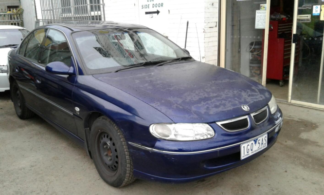 1999 HOLDEN BERLINA VT 4 SP AUTOMATIC 3.8L MULTI POINT F/INJ ENGINE LONG