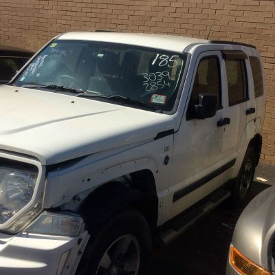 2008 JEEP CHEROKEE KK 4 SP AUTOMATIC 3.7L MULTI POINT F/INJ