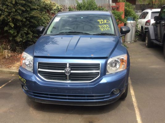2008 DODGE CALIBER PM R/T 5 SP MANUAL 2.4L MULTI POINT F/INJ TRANSMISSION/GEARBOX