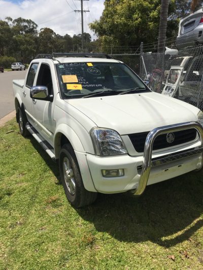 2004 HOLDEN RODEO RA LT (4x4) 4 SP AUTOMATIC 3.5L MULTI POINT F/INJ DOOR LR