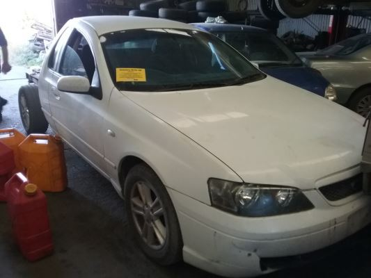 2005 FORD FALCON BA MKII XL (LPG) 4 SP AUTO SEQ SPORTS 4.0L LPG SEAT LF