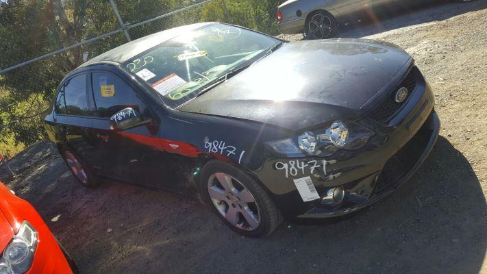 2011 FORD FALCON FG UPGRADE XR6T 6 SP AUTO SEQ SPORTS 4.0L TURBO MPFI BAR FRONT COMPLETE