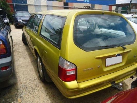 2003 FORD FALCON BA XT 4 SP AUTO SEQ SPORTS 4.0L MULTI POINT F/INJ DOOR TRIM LF