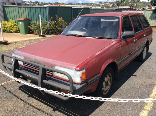 1992 SUBARU DL (4WD) 5 SP MANUAL 1.8L CARB