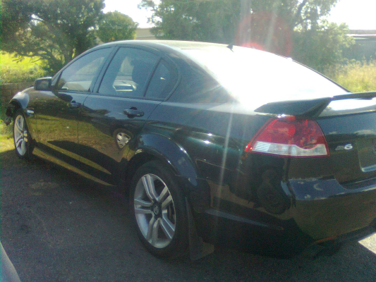 2010 HOLDEN COMMODORE VE II SV6 6 SP AUTOMATIC 3.6L MULTI POINT F/INJ TRANSMISSION/GEARBOX