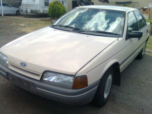 1989 FORD FALCON EA GL 3 SP AUTOMATIC 3.9L SINGLE POINT F/INJ TRANSMISSION/GEARBOX