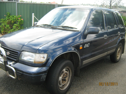 1997 KIA SPORTAGE (4x4) 5 SP MANUAL 2.0L MULTI POINT F/INJ BONNET