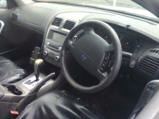 2007 FORD FALCON BF MKII XT (LPG) 4 SP AUTO SEQ SPORTS 4 0L LPG BOOT GARNISH
