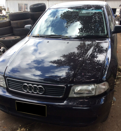 1995 AUDI A4 1.8 4 SP AUTOMATIC 1.8L MULTI POINT F/INJ GUARD LF