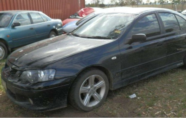 2005 FORD FALCON BA MKII XR6 5 SP MANUAL 4.0L MULTI POINT F/INJ DOOR CHECK STRAP LF
