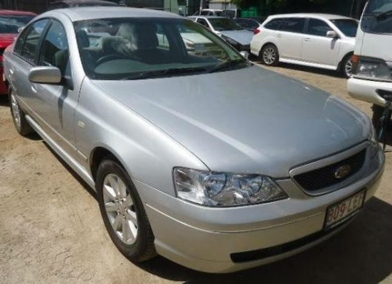 2005 FORD FALCON BA MKII FUTURA 4 SP AUTO SEQ SPORTS 4.0L MULTI POINT F/INJ DOOR CHECK STRAP LF