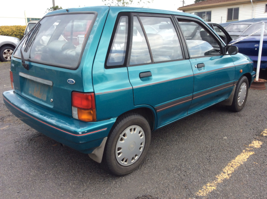 1992 FORD FESTIVA WA 5 SP MANUAL 1.3L CARB WIPER MOTOR REAR