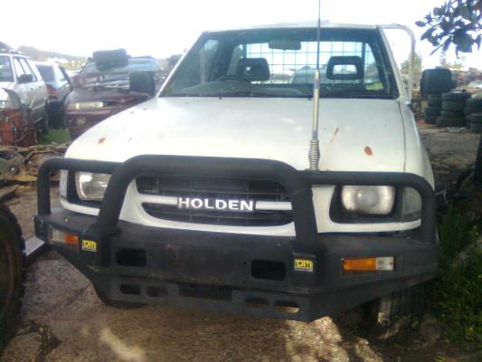 1999 HOLDEN RODEO TFR9 LX 5 SP MANUAL 3.2L MULTI POINT F/INJ GUARD LF